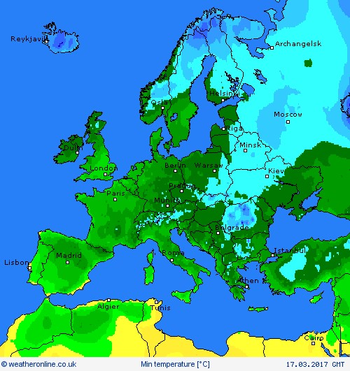 EUROPE WEATHER