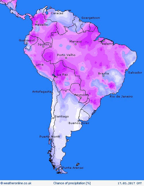SOUTH AMERICA 17 MARCH