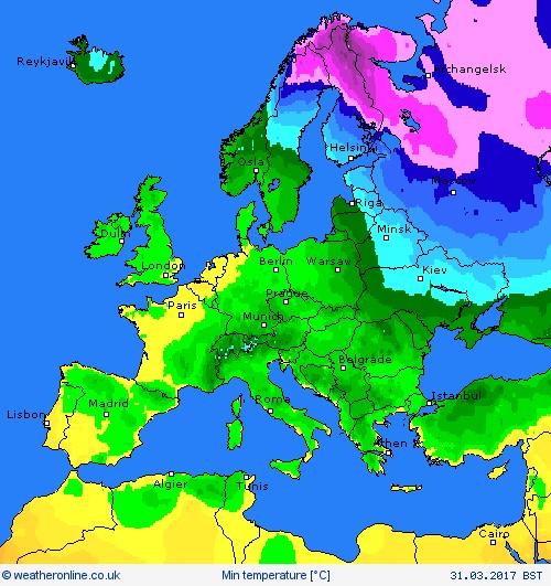 weather europe